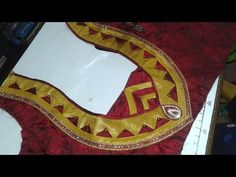Skirt Stitching / Pattu Pavadai Making Easy Method(DIY) - YouTube