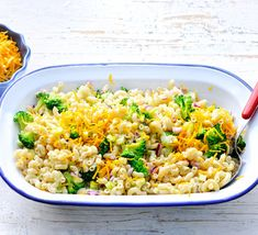 Broccoli-Cheddar Macaroni Salad