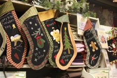 Stockings from http://www.american-quilting.com/blog/?p=1171