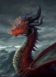 dragon escarlata o del infierno