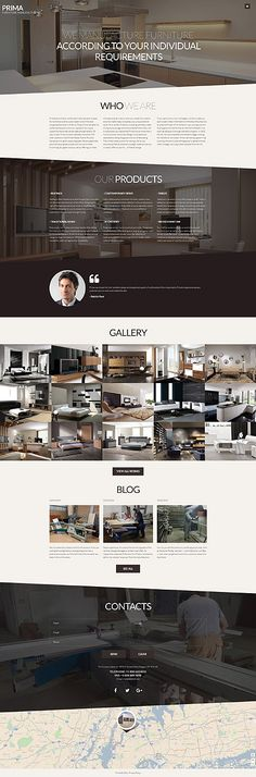 Furniture Joomla Template With Catchy Parallax Effect And Multiple Gallery Options Is A Perfect Way To Display Your Outstanding Service Artworks