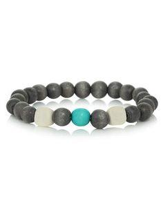 Casual Bead Stretch Bracelet - $9