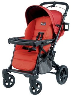 Peg Perego Uno Convertible Carriage to Stroller System in Tango - http://www.strollersreview.net/peg-perego-uno-convertible-carriage-to-stroller-system-in-tango/