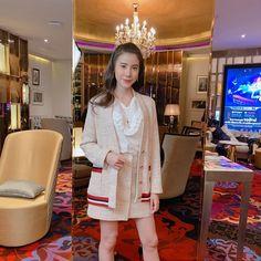 Girl Boss, Asian Fashion, Curly Hair Styles, Cosplay, Shirt Dress, Coat, Destiny, Crushes, Jackets