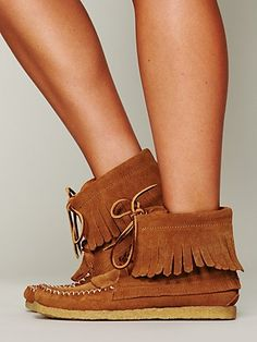 Free People Aztec 1955 Moccasin