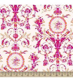 Jennifer Paganelli Cotton Fabric- Katie Lady Swirl