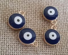 Wholesale Evil Eye Charm ( 6 Pieces FREE SHIPPING )