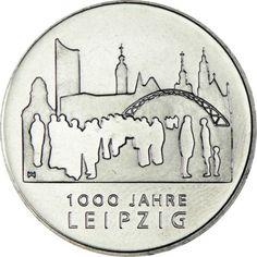 10 Euro CuNi 1000 Jahre Leipzig UN