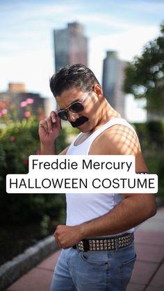 Cheap Halloween Costumes, Pet Costumes, Group Costumes, Halloween Cosplay, Halloween Party, Costume Makeup, Geek Culture, Freddie Mercury, Cosplay Ideas