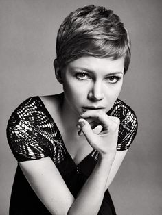 Michelle Williams short hair - (It's been decided, I will be doing this one again next.)