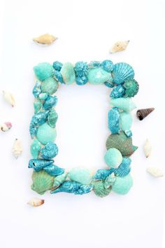 Glitter Sea Shell Pi