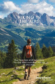 There are so many great destination for hiking in the Alps. But should you head to the Dolomites, the Tyrol, the Swiss or French Alps? Here are our recommendations for hiking in the Alps in summer. Hiking Places, Places To Travel, Europa Tour, Hiking Training, Hiking Europe, French Alps, Hiking Tips, Hiking Routes, Adventure Photography
