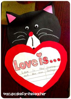 Splat the Cat Love Is... Class Book Freebie!