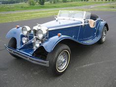Zum Zum Auto - Electric Cars: 1938 Jaguar SS100 Roadster