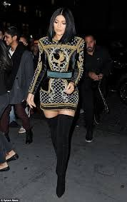 Image result for black balmain dress