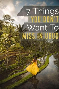Heading to Bali soon and looking for things to do near Ubud? Check out 7 incredible things to see near Ubud. If it's waterfalls you're looking for, Ubud has them in abundance. Check out our post to find out more! Things to do in Ubud Bali Travel Guide, Asia Travel, Travel Plan, Ubud, Bali Waterfalls, Bali Honeymoon, Beste Hotels, Tours, Natural Wonders