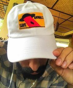 81c6dfc291e Our Save Animals hat design was created to open the conversation about  saving animals through Veganisim in a less obvious and more playful way.