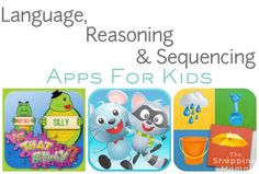 Language Reasoning & Sequencing Apps for Kids