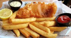 Fish and Chips from Rose and Crown Pub and Dining Room -- but who has the BEST fish and chips in Disney World?