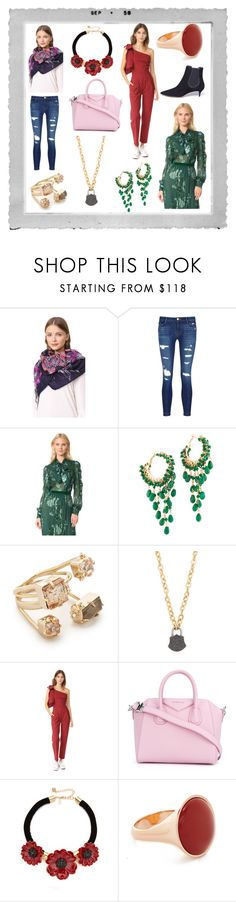 """""""Fashion Freaks"""" by donna-wang1 ❤ liked on Polyvore featuring Polaroid, Rebecca Minkoff, J Brand, Anna Sui, Rosantica, Alexis Bittar, Ela Rae, Sea, New York, Givenchy and Kate Spade"""