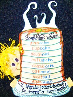First Grade Wow: Flippin the Flapjacks- and Compound words!