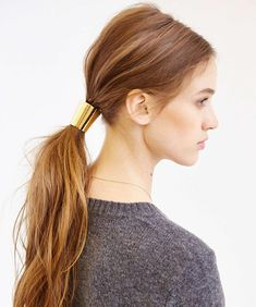 7 Beyond Gorgeous Hair Accessories for Every Member of Your Bridal Squad - Metal Mania Ponytail Holder from InStyle.com