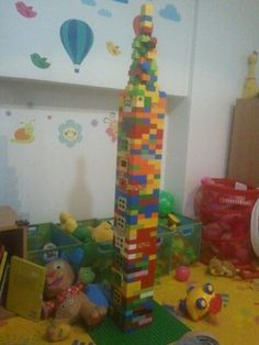 Duplo state tower