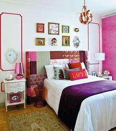 Recursos para cambiar de habitación: de niños a adolescentes – Deco Ideas Hogar Small Girls Bedrooms, Cool Apartments, Awesome Bedrooms, Trendy Bedroom, Decoration, Bedroom Decor, Kids Bedroom, Bedroom Ideas, Sweet Home