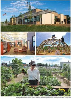 Think Big in a Little town!  Wouldn't a Wellness Center/Library/Community Garden/Teen Hangout/Life Education in one location be AWESOME?  Would you want to live in that town? BestSmall1b  Best Small Library in America 2014: Pine River Library, CO