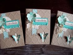 Kreativ am Deich Stampin Up! Homemade Journal, Paper Crafts, Diy Crafts, Scrapbooking, Butterfly Cards, Love Blue, Stampin Up Cards, Mini Albums, Making Ideas