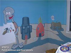 Kids Room, Family Guy, Guys, Painting, Fictional Characters, Art, Room Kids, Kids Rooms, Painting Art