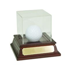 Golf Gifts & Gallery 1961 Hole in One Trophy - Mahogany by Golf Gifts & Gallery. $24.99. Mahogany finish hole in one trophy golf ball holder w/acrylic lid