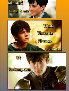 Life lessons fictional characters have taught me #11- Edmund Pevensie- The Chronicles of Narnia
