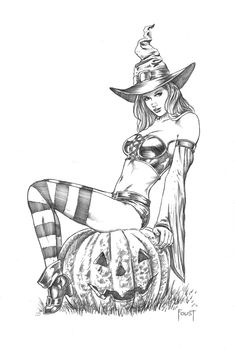 Holiday Witch by MitchFoust on DeviantArt
