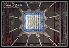 Casa Zapata. Vidriera y conjunto patio by jarm - Cartagena, via Flickr