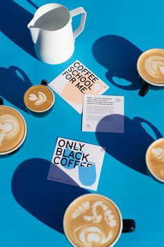 Black — identity for coffee brand on Behance
