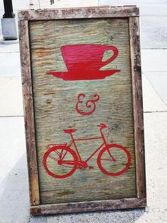 Cafe + Bicicletas