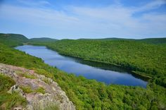 Lake of the Clouds, Porcupine Mountains State Park. Here is an article on seven awesome views in Upper Michigan.