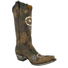 """Old Gringo Ladies """"Tyler"""" Boots - Chocolate - OTHER LEATHERS - LADIES - BOOTS 