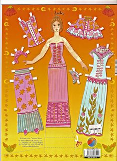 Princess Paper Doll | Gabi's Paper Dolls