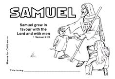 printable book - click on the picture of Samuel