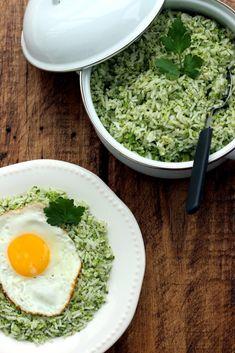 Easy Broccoli Garlic Rice - Dish by Dish