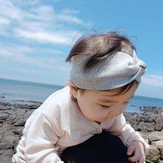 New baby korean blue 30 ideas Cute Asian Babies, Korean Babies, Asian Kids, Cute Little Baby, Cute Baby Girl, Little Babies, Dad Baby, Mom And Baby, Baby Kids