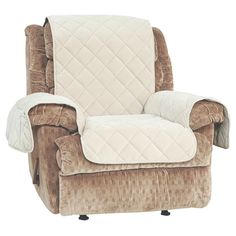 Recliner Slipcover Sure Fit Taupe (Brown)