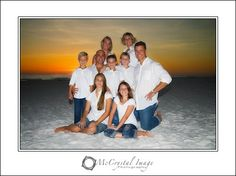Family Portraits on the Beach - a Classic