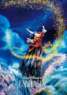 Tenyo Japan Jigsaw Puzzle DW-1000-396 Disney Mickey Fantasia Dream (1000 Pieces)