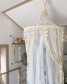 Macrame canopy