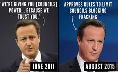 UK #fracking - the government is frighteningly keen. Sensible people are not. Let's learn from the horror stories in other countries!