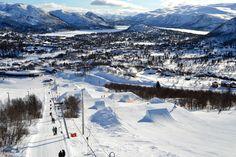Hovden in Setesdal is one of Norway's best ski resorts.   Photo: Elisabeth Høibo©Visit Southern Norway