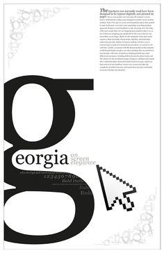 The Typeface Georgia